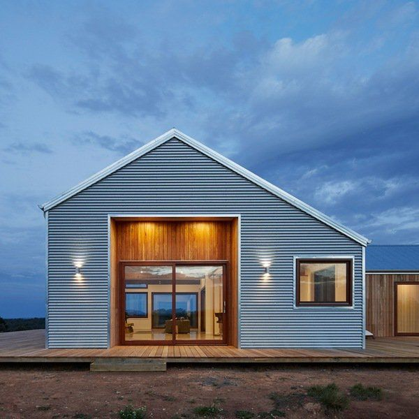 Small Modern House In Australia: Metal Building Homes Small House Design Ideas Modern Metal