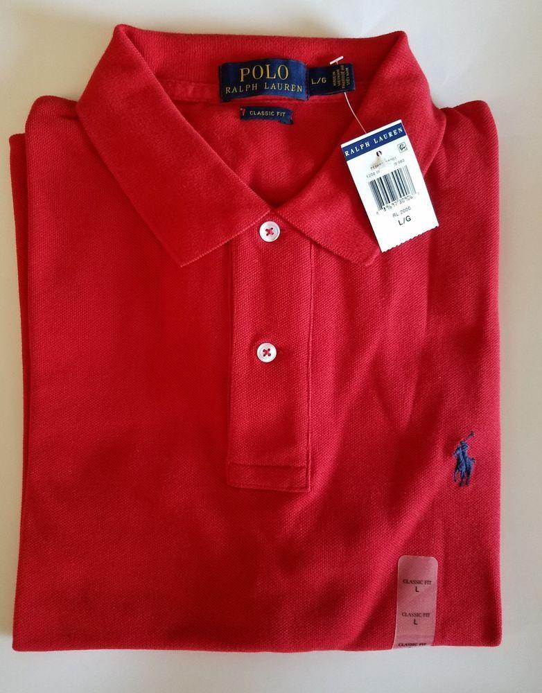 Ralph Lauren Seersucker Shirt White Button-Front Chest Pocket Size L /& XL NWT
