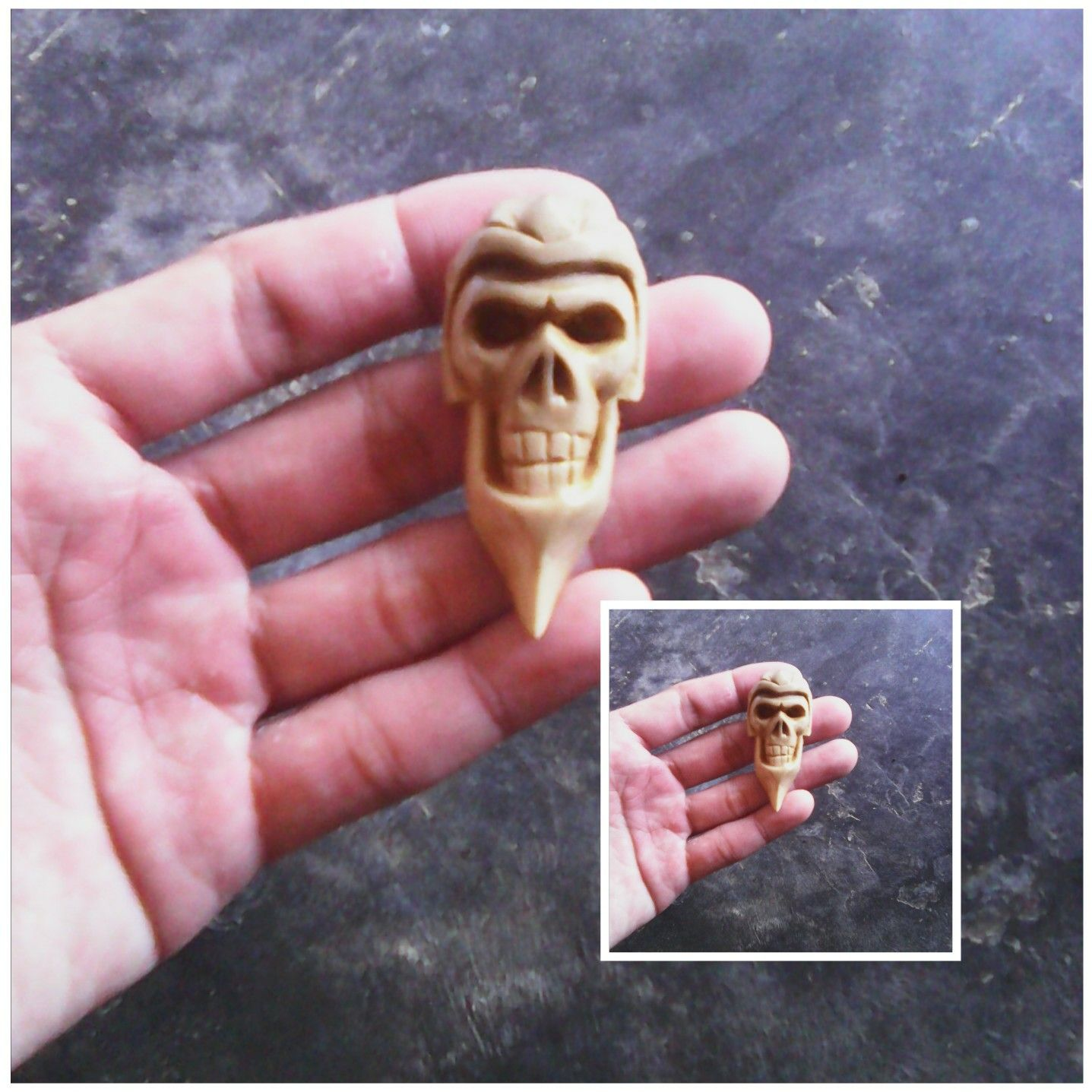 Skull pendant