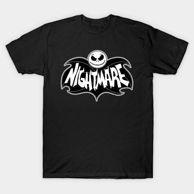 The Dark Nightmare - Jack Skellington T-Shirt - Th