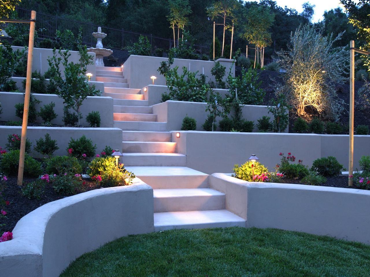 Hardscape Design Ideas Backyard Hill Landscaping Large Backyard