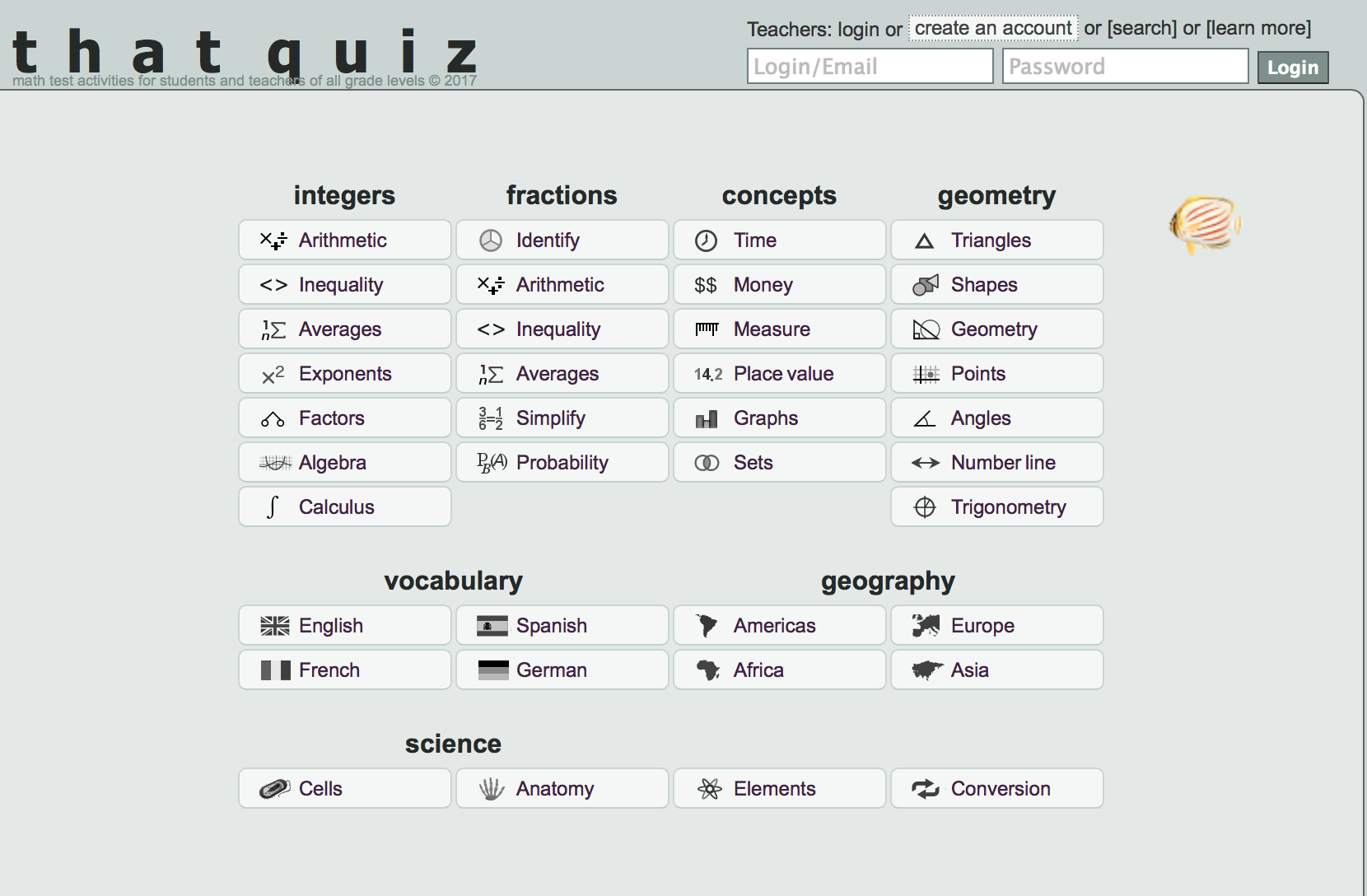 Quiz and question generator for various Math topics   Pre-Calculus ...