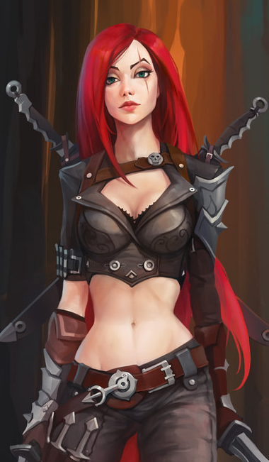 Imagen De Katarina Lol And Fanart League Of Legends Warrior Woman League