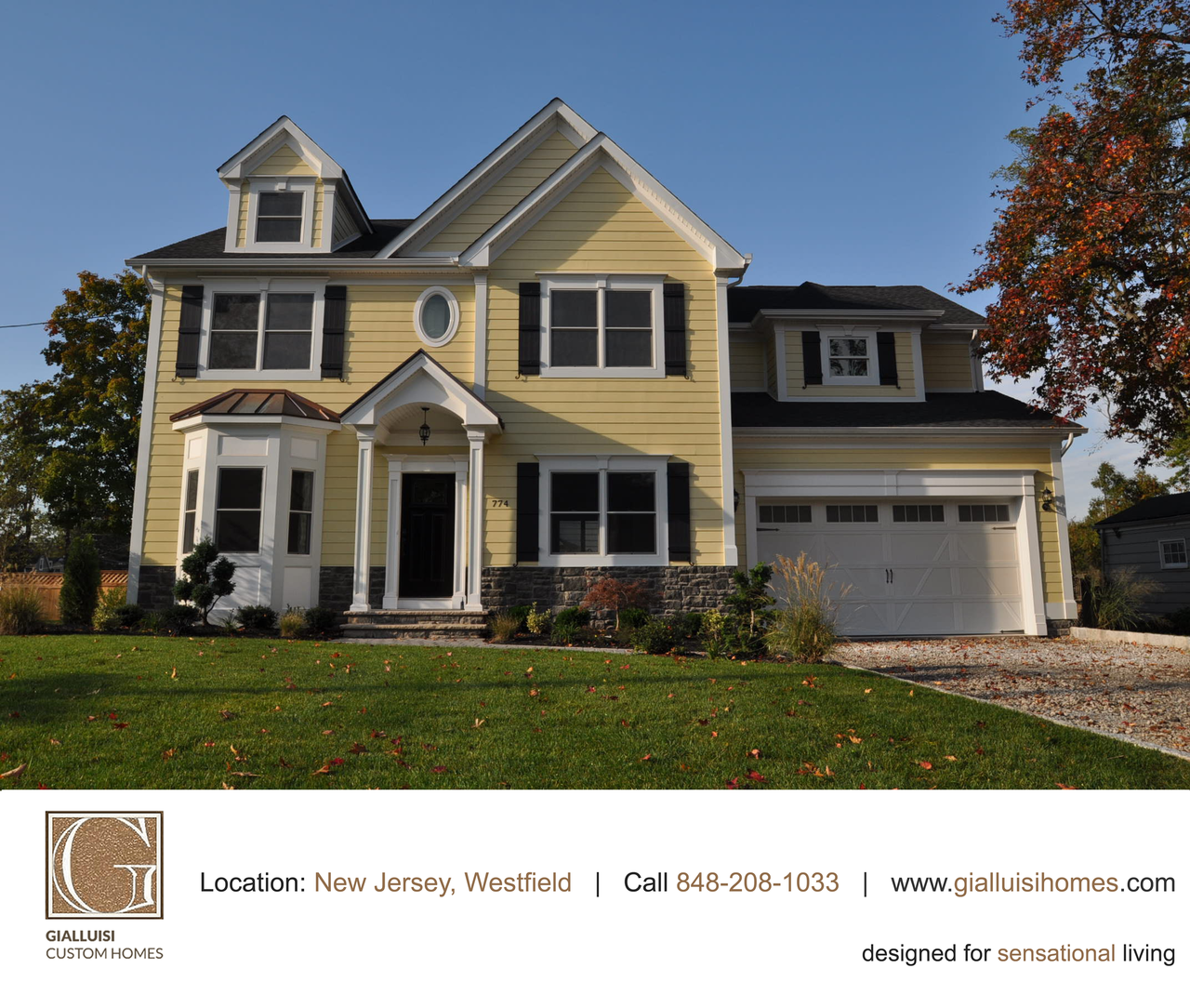 """""""The warm yellow of late summer... #NewJersey #GCH #HomeBuilders"""""""