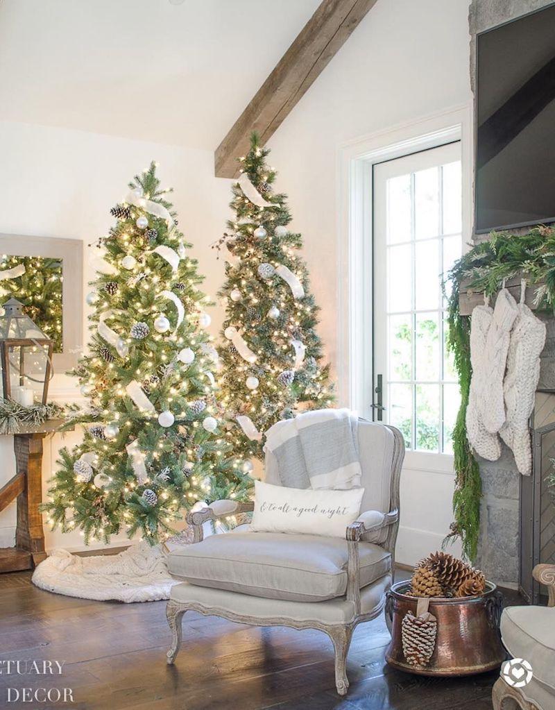 19 Festive Christmas Living Room Decor Ideas Chris