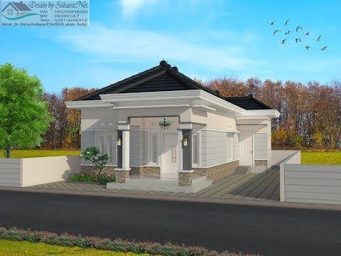 Rumah Minimalis Lantai 1 Modern House 7x12 Youtube Duplex House Design House Blueprints Small House Communities