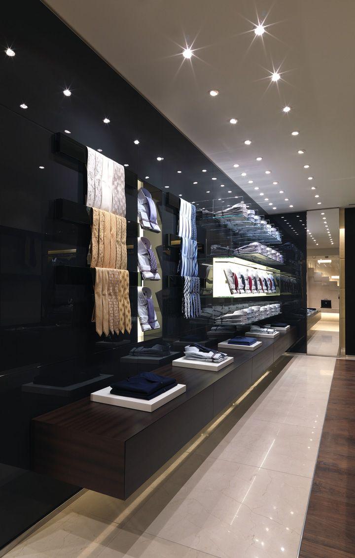 Lamparas store tiendas de ropa decoracion de local y for Diseno de interiores almacenes de ropa