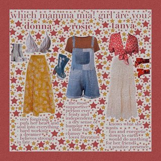 Mamma Mia Aesthetic   Mamma mia, Theatre outfit, Mamma