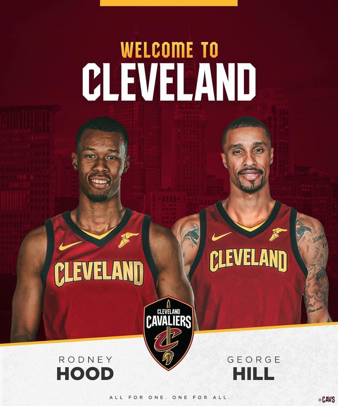 Cleveland Cavaliers Made A Lot Noise During The Trade Deadline Dealing Away Six Players Welcome N Larry Nance Jr Cleveland Cavaliers Basketball George Hill
