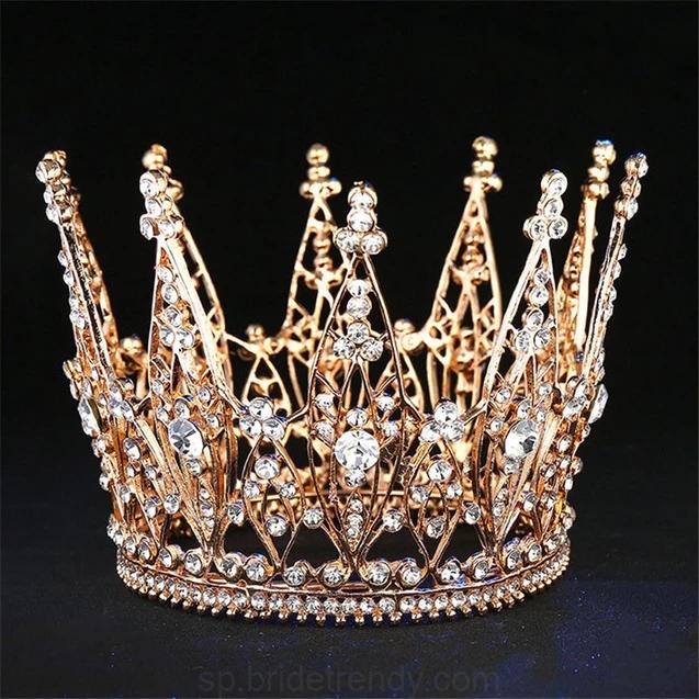 Sweetv Plata Boda Tiara para novia adultos Royal Pageant Fiesta Diadema..