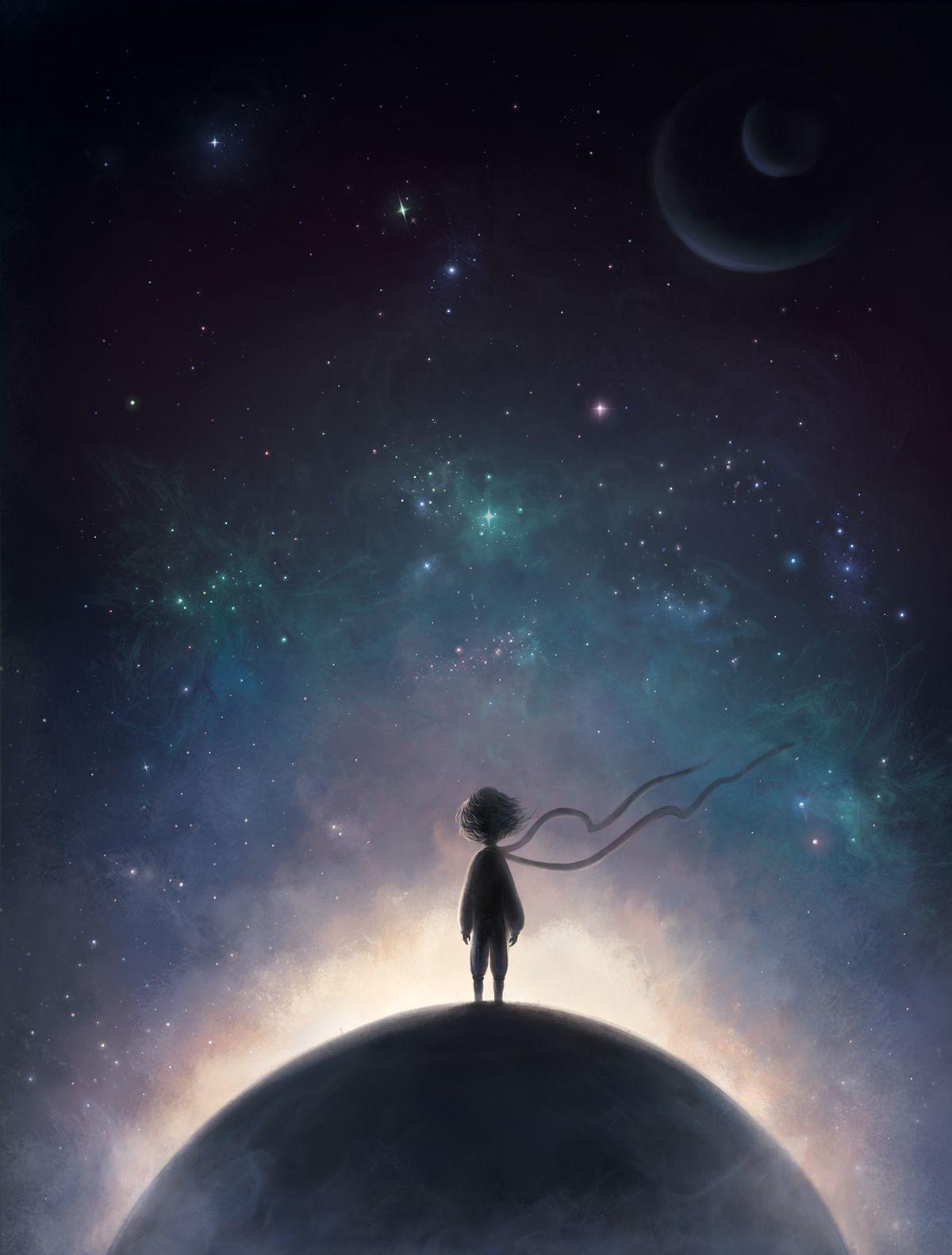 Deep House Girl Wallpaper The Little Prince Illustrations By Ann Baratashvili Part