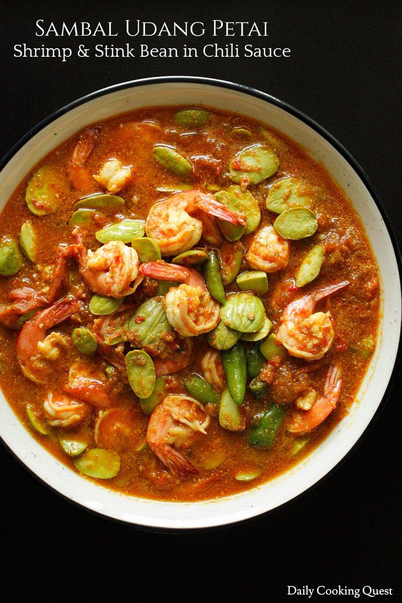 Sambal Petai Udang : sambal, petai, udang, Petai, Stink, Bean), Weirdest, Stinkiest, Around,, Faint, Hearted, Sure., Sur…, Sambal,, Dinner, Casseroles,, Indian, Recipes