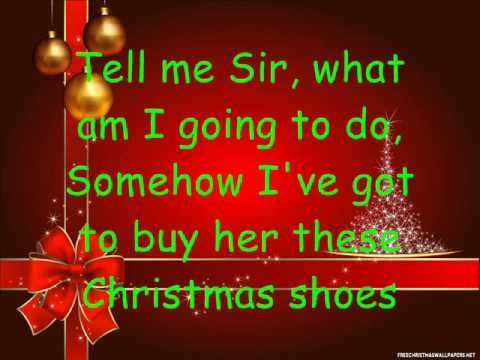 Christmas Shoes Lyrics.The Christmas Shoes Lyrics Gift Music Christmas