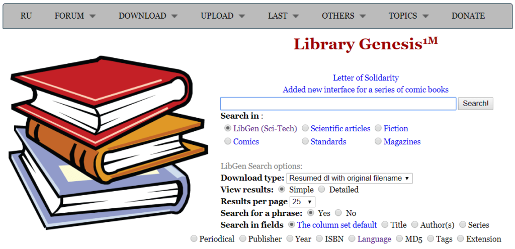 35 Libgen Proxy & Mirror Sites to Access Library Genesis