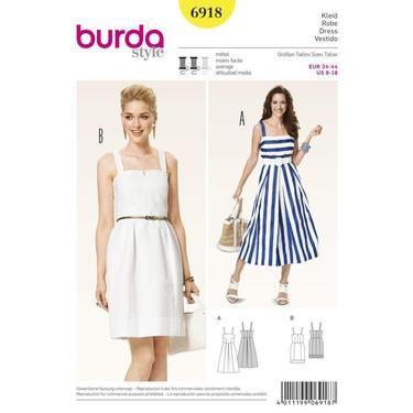 Burda 6918 Womens Dress 8 18 Spotlight Australia Spotlight