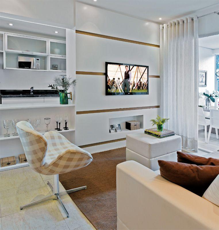 Apartamento decorado de 70 m parece maior com algumas - Decoraciones de apartamentos ...