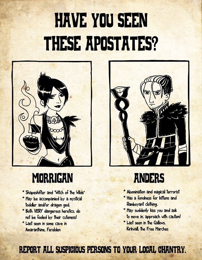 Wanted Apostates by jancola.deviantart.com