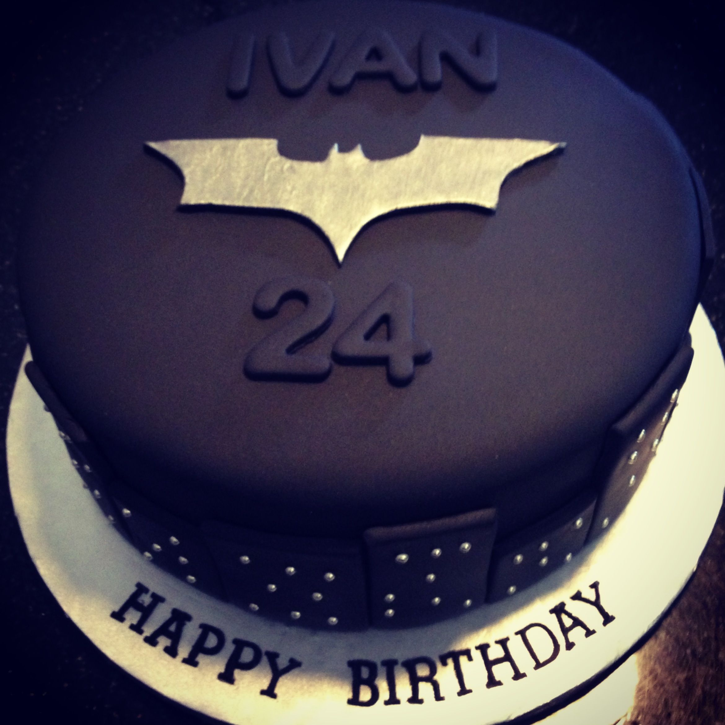 Birthday Cakes For My Man ~ My husband s quot the dark knight batman birthday cake holidays party ideas pinterest