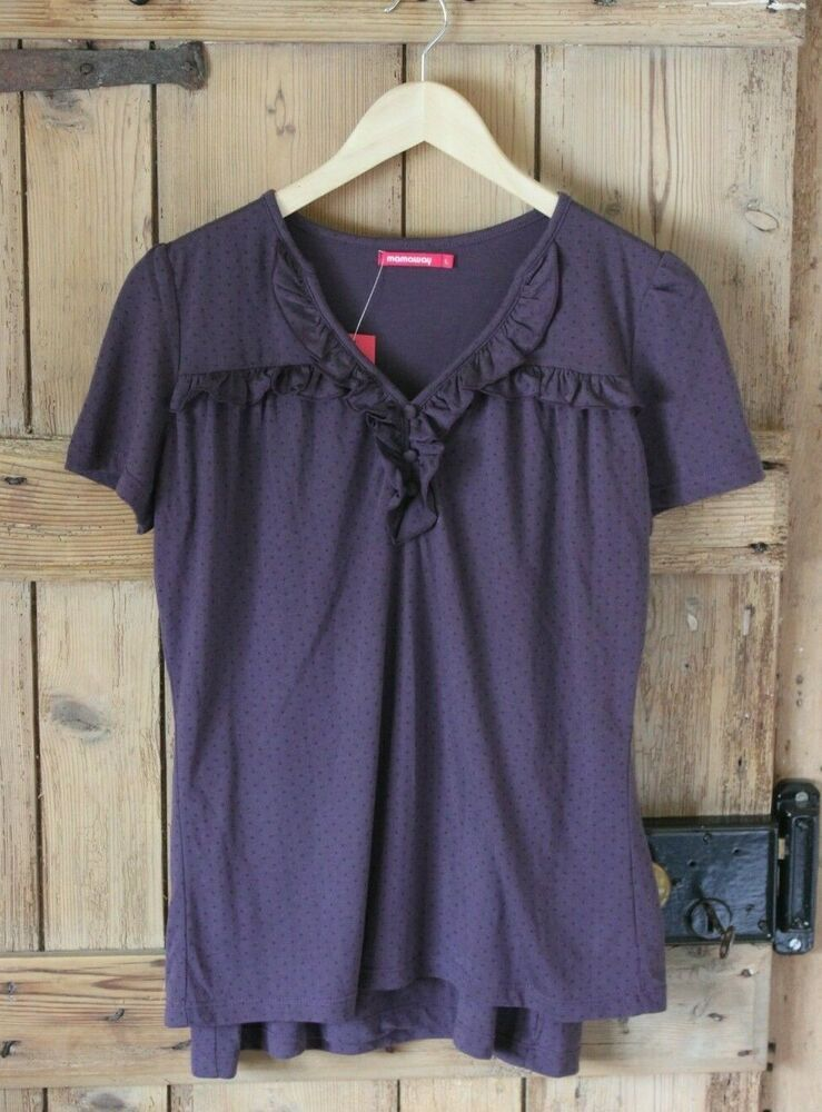 6c22461296e71 Mamaway maternity/nursing top. Plum. Size L approx 14 #fashion #clothing