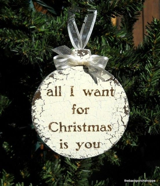 All I Want For Christmas Is You Ornament Christmas Ornaments Christmas Christmas Magic