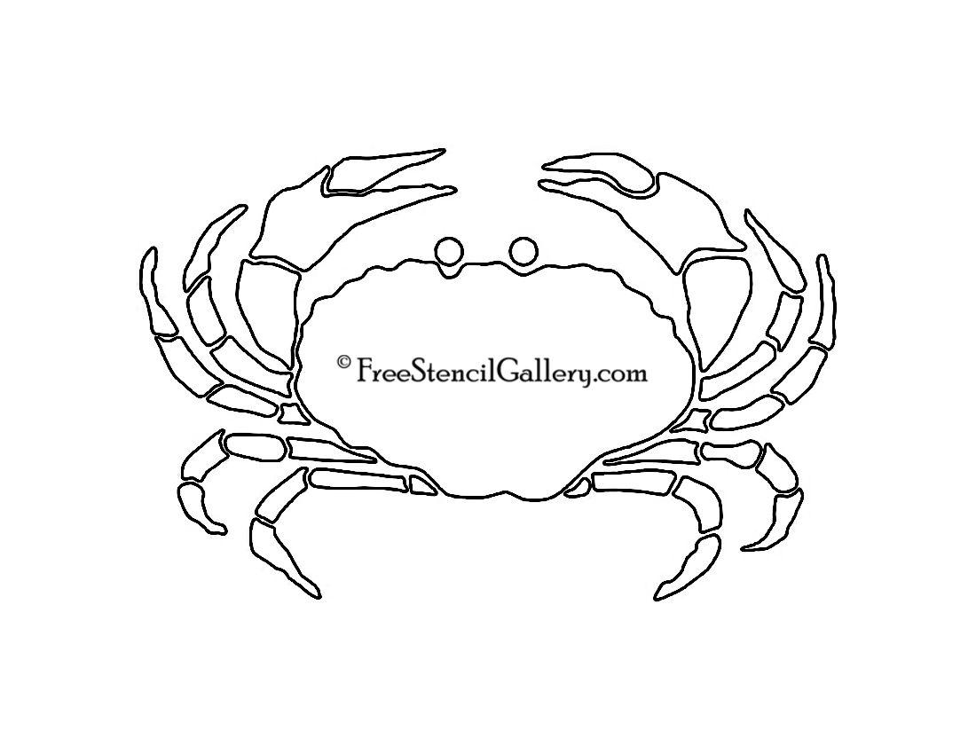 crab stencil freestencilcom pyrography inspiration
