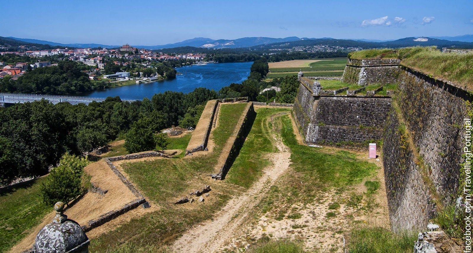 Valença Do Minho By World Pinterest Portugal And Forts - Valenca portugal map