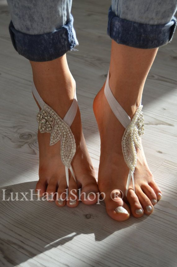 steampunk foot sandals yoga shoes jewelry wedding crochet product store bellydance nude victorian anklet pool lace black beach sexy barefoot