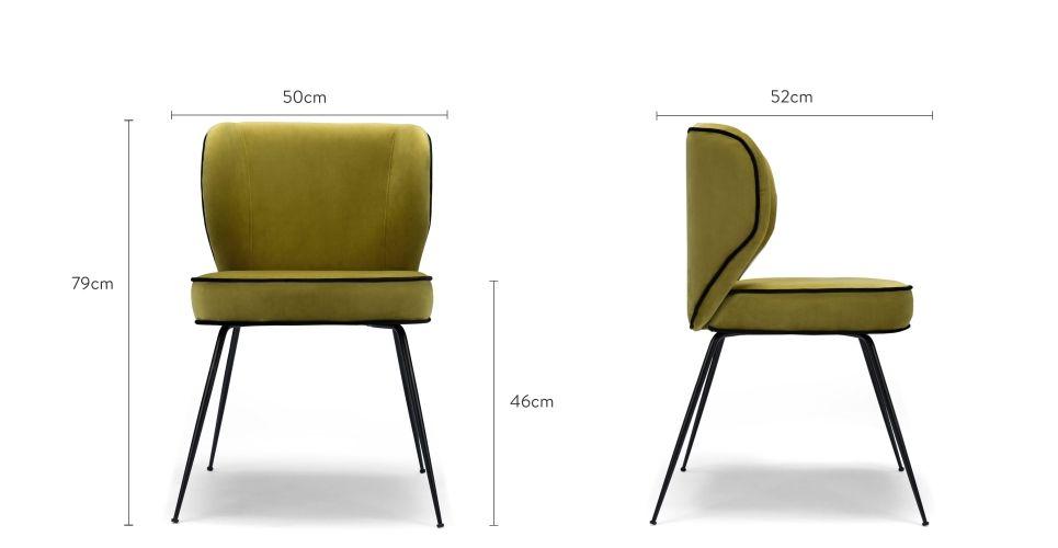 Chaise Velours Chaise Design Chaise Salle A Manger Chaise