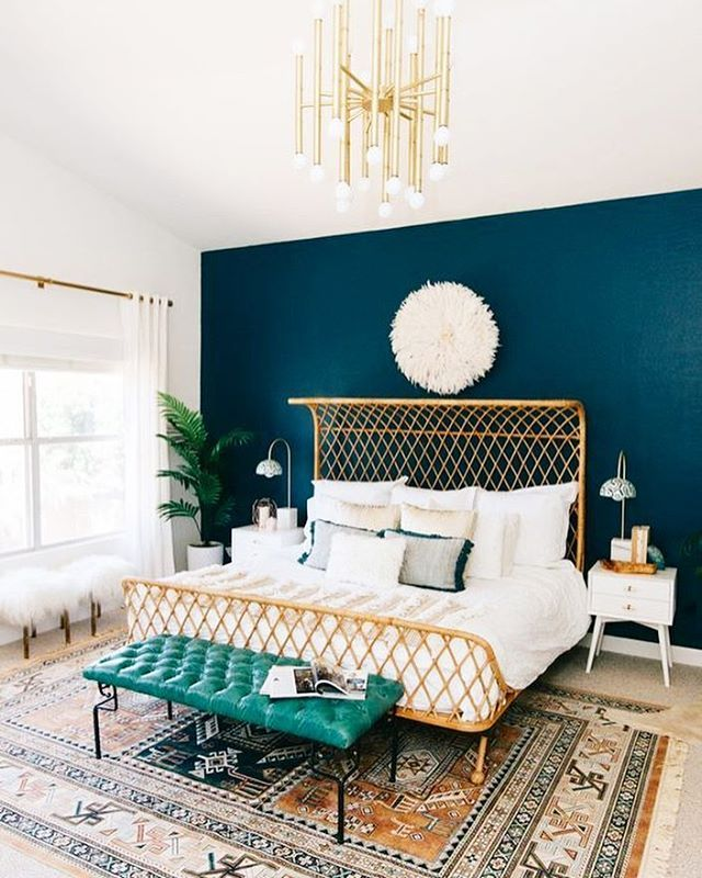 Peach Accent Wall Bedroom Bedroom Chandeliers Ikea Twin Bed Bedroom Ideas Bedroom Sets Colors: THIS Is What Boho Bedroom Dreams Are Made Of. Feeling Our