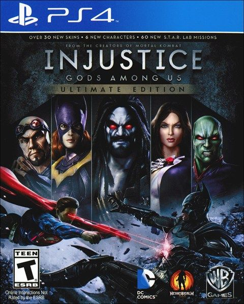 Injustice Gods Among Us Ultimate Edition Ps4 Games Injustice Game Reviews