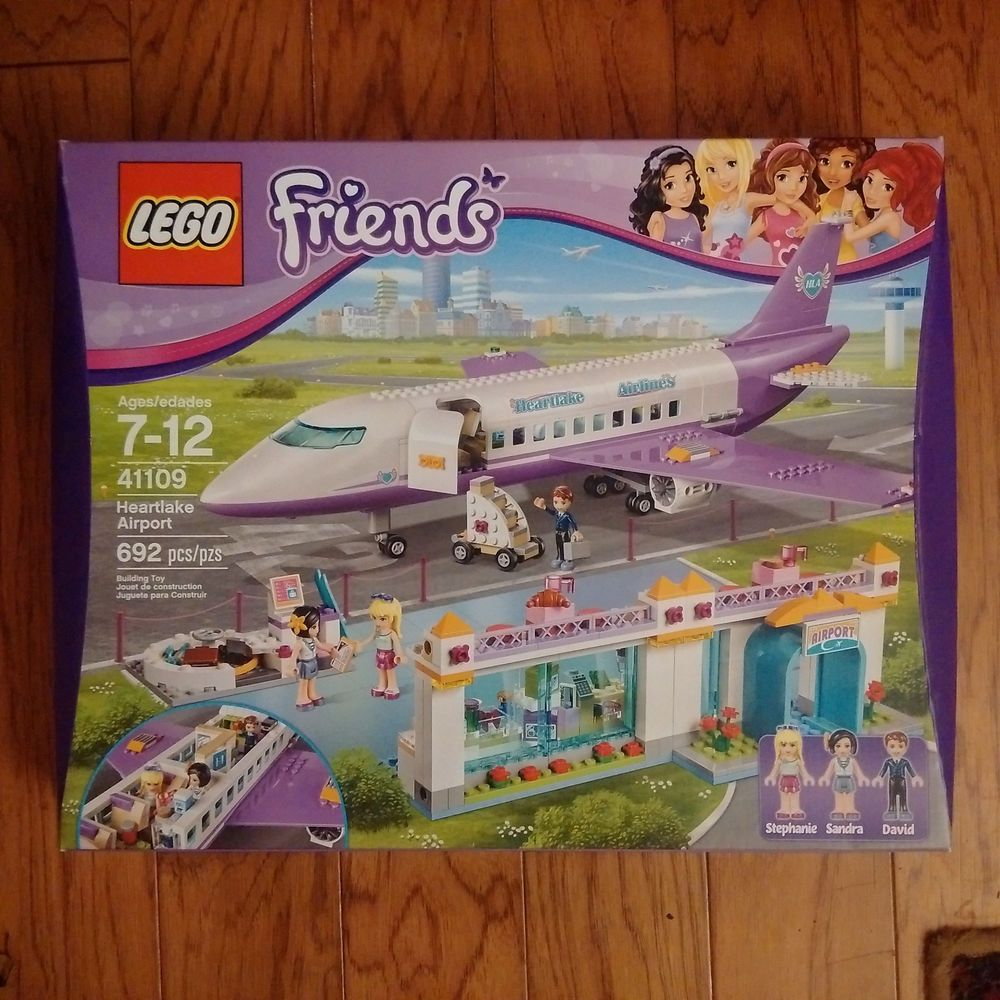 Retired Lego 41109 Friends Heartlake Airport Set New Sealed In Box