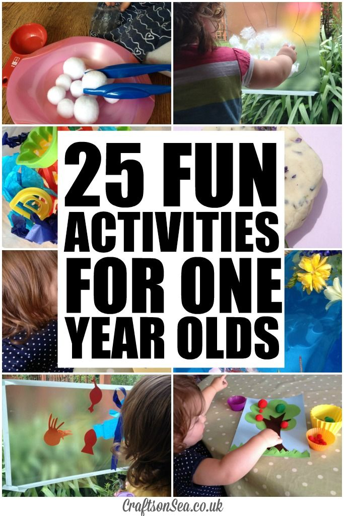 25 Fun Activities For One Year Olds Activities For One