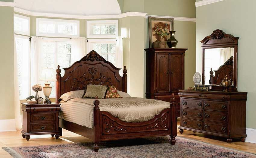 Bedroom  Traditional Style Bedroom Furniture Set For Rustic Bedroom Design  With Wooden Bed And Nightstand Combined With Luxurious Dresser Table With  Elegant. Latest Posts Under  Bedroom furniture sets   design ideas 2017