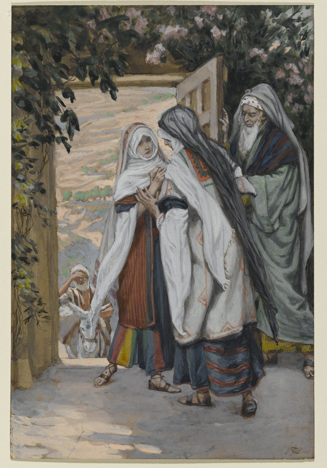 """The Visitation"" by James Tissot"
