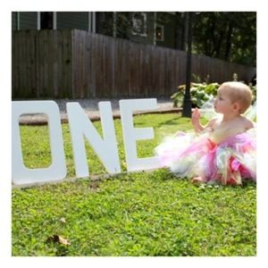 We did it! We made it a whole year! After perusing Pinterest like a crazy person for over SIX MONTHS (I should be ashamed to admit this) I got a ton of rainbow themed ideas for Baby L's first…