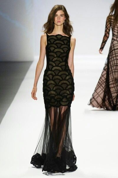 Tadashi Shoji collection at New York Fashion Week