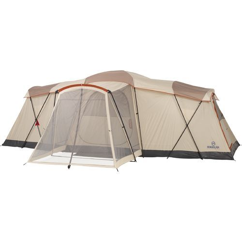 The Magellan Outdoors™ Eagle Pass Cabin Tent sleeps up to 12 people and features 3  sc 1 st  Pinterest & The Magellan Outdoors™ Eagle Pass Cabin Tent sleeps up to 12 ...