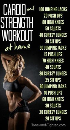 Cardio and Strength Training Workout