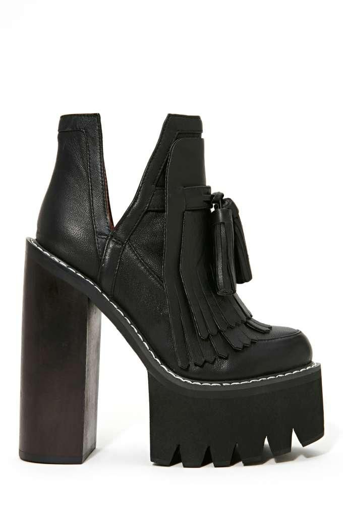 2fa595b377f Jeffrey Campbell O-Quinn Platform Boot - Black