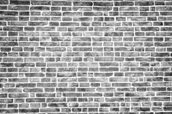 Black And White Brick Texture Background Kirpichnaya Stena