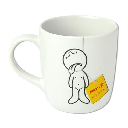 Mug Mr P Break Propaganda Design Chaiyet Plypetch Koffie Kopje