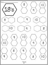 Worksheet Packet: Helps students develop number sense by