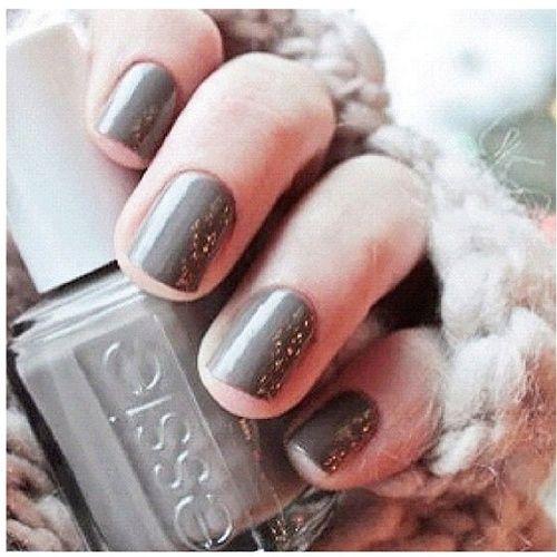 nails #essie gray | My Jewelry My Style | Tırnak