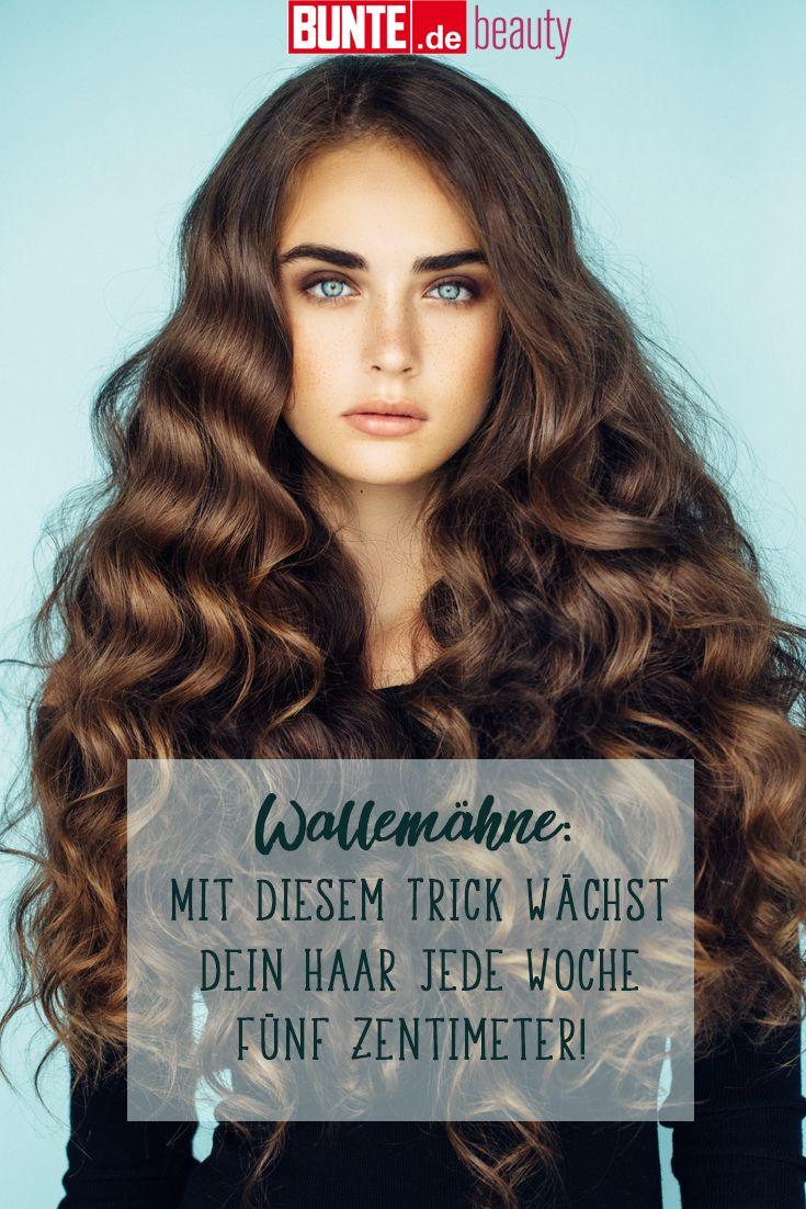 Endlich eine Wallemähne: Mit diesem Trick wächst dein Haar jede Woche 5 Zentimeter #beautyhacks