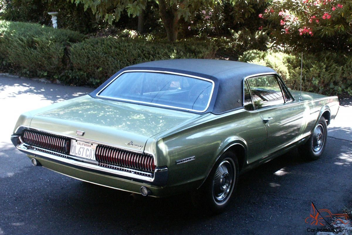 1967 Mercury Cougar Xr7 For Sale Ford Motor Company Pinterest 1960s