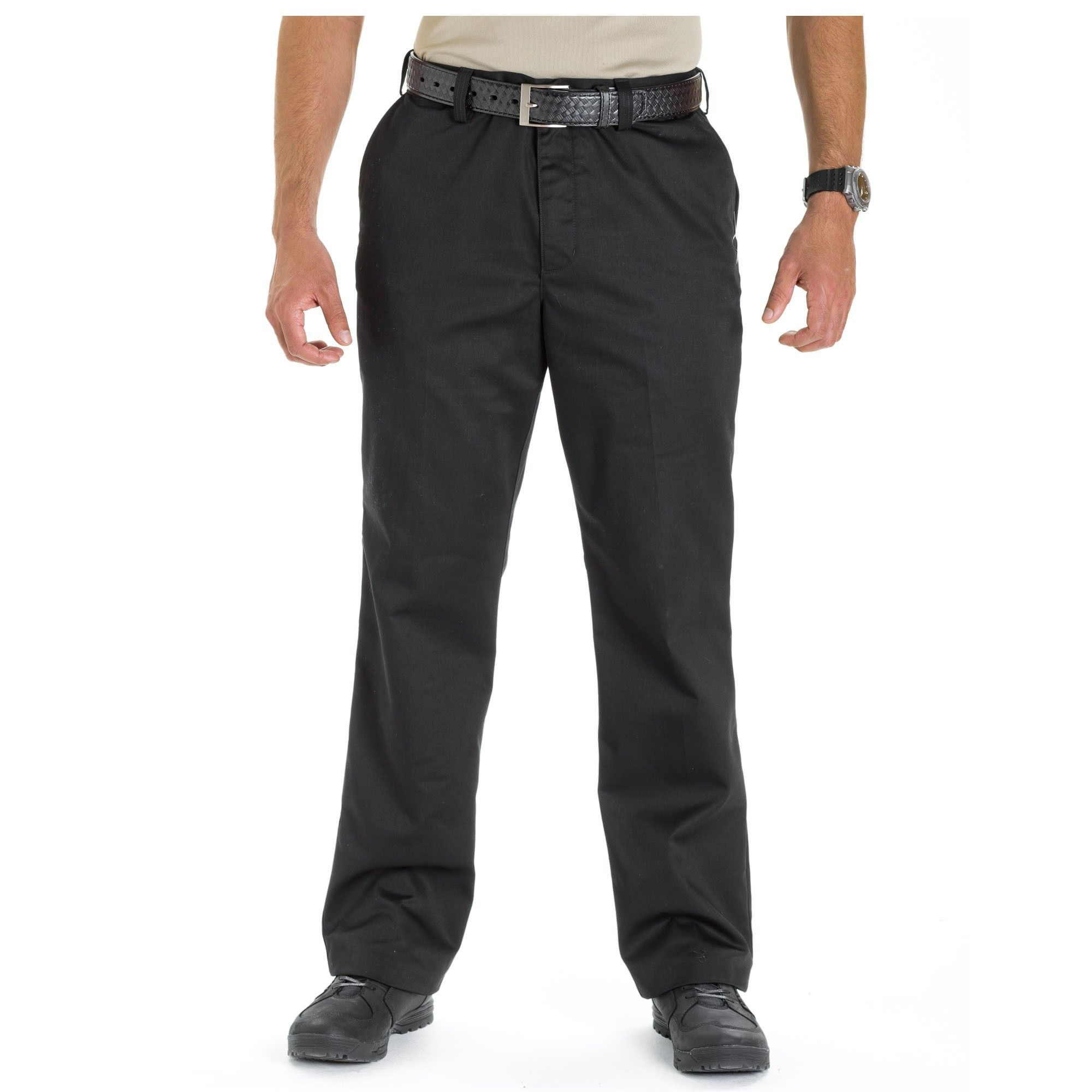 Black Khaki Pants For Men Covert Tactical Dress Pants