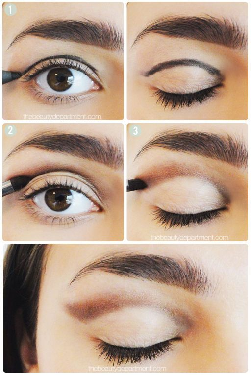 Eye Shadow Breakdown Makeup Pinterest Simple Makeup Tutorial