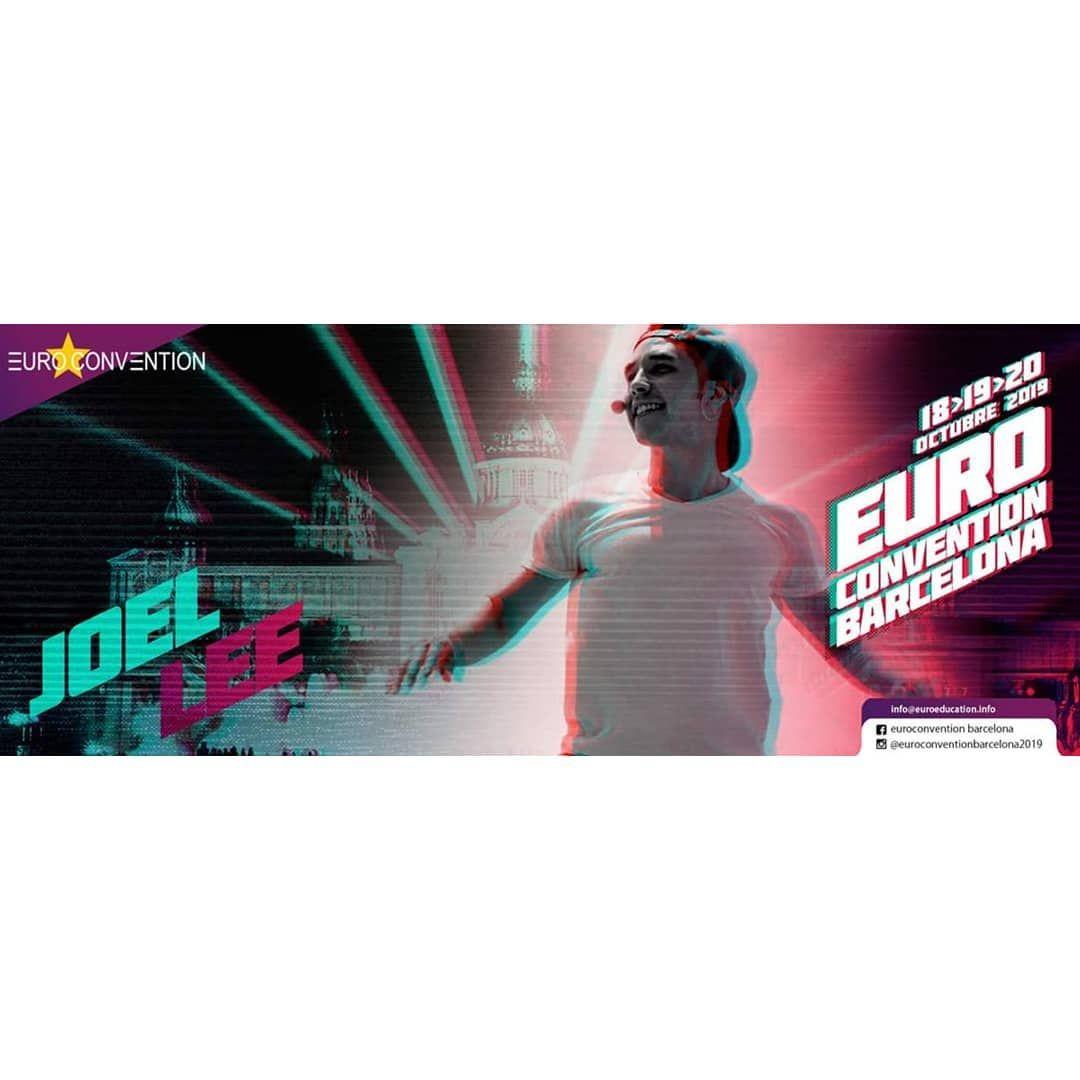 @joel_presenter_fitness estará en nuestro equipo EUROCONVENTION BARCELONA 2019 No te pierdas sus cla...