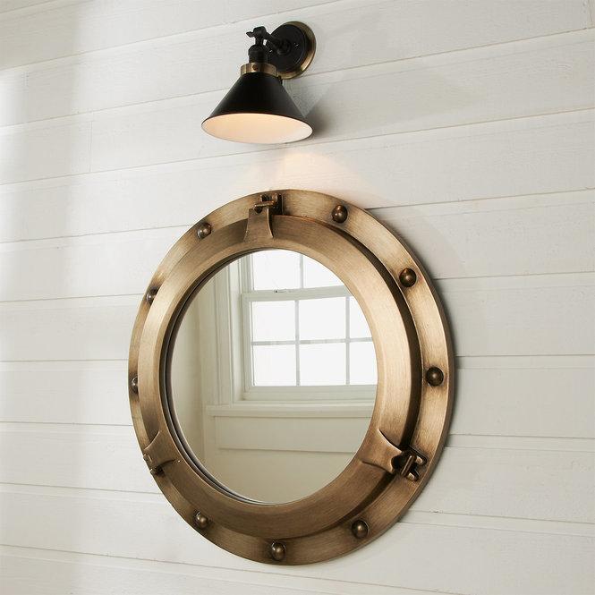 Porthole Mirror In 2020 Bullauge Spiegel Badezimmerspiegel Beleuchtet Badezimmerspiegel