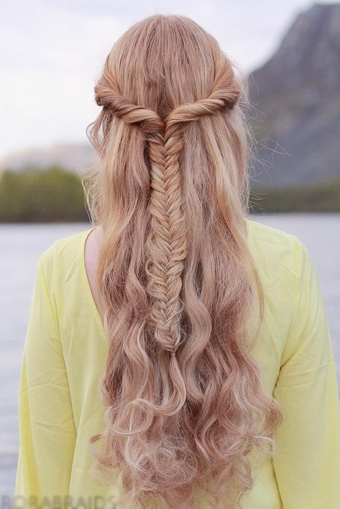 Fishtail Braid Hairstyles Endearing 15 Proofs That A Fishtail Braid Is Must Try  Fishtail Braids